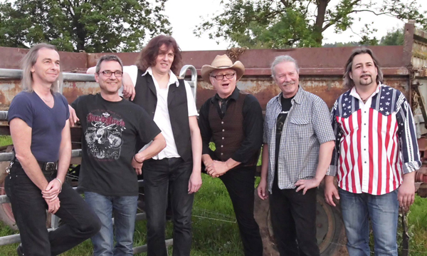 Lonnie Dales Road Band am Truckerfest in Geiselwind
