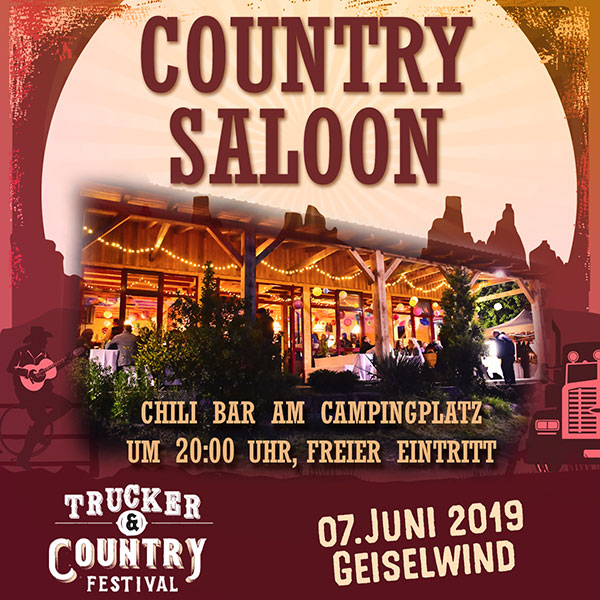 COUNTRY SALOON in der CHILI BAR