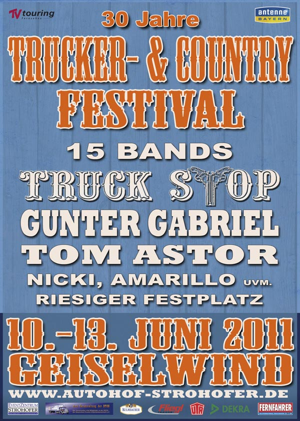 Trucker- & CountryFestival 2011 in Geiselwind