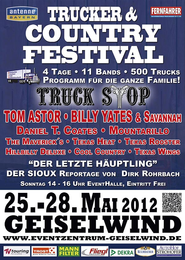 Trucker- & CountryFestival 2012 in Geiselwind