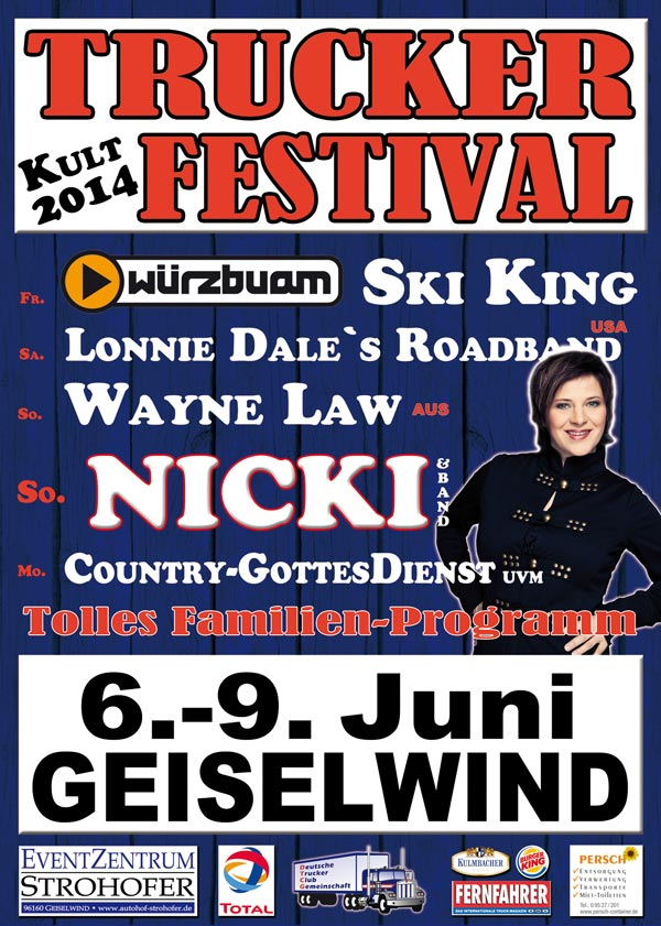 Trucker- & CountryFestival 2014 in Geiselwind